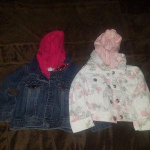 12M baby girl jean jacket
